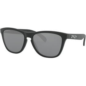 Oakley Frogskins Sunglasses Women matte black/prizm black polarized